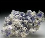 Fluorite with Dolomit
